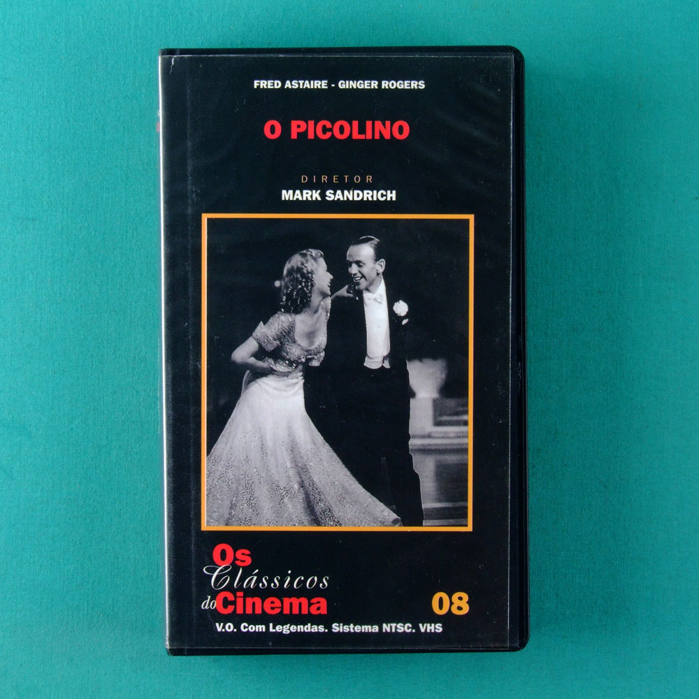 VHS MARK SANDRICH O PICOLINO CLASSICS OF CINEMA 08 BRAZIL