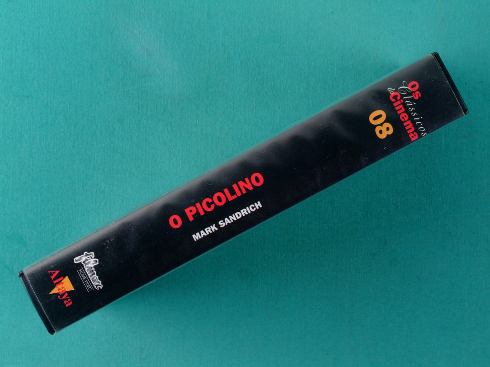 VHS MARK SANDRICH O PICOLINO CLASSICS OF CINEMA 08 BRAZIL