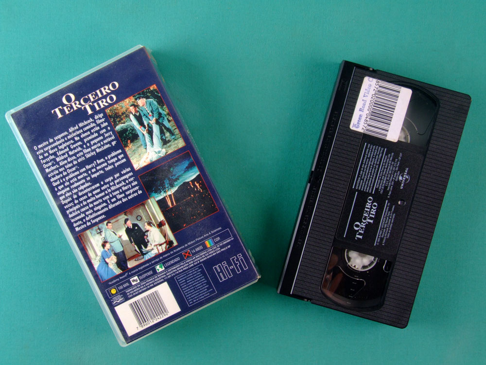 VHS ALFRED HITCHCOCK THE TROUBLE WITH HARRY 1982 BRAZIL