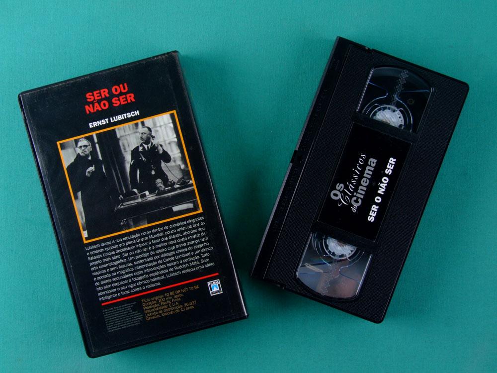 VHS ERNST LUBITSCH SER OU NAO SER THE CLASSICS OF CINEMA 06 BRASIL
