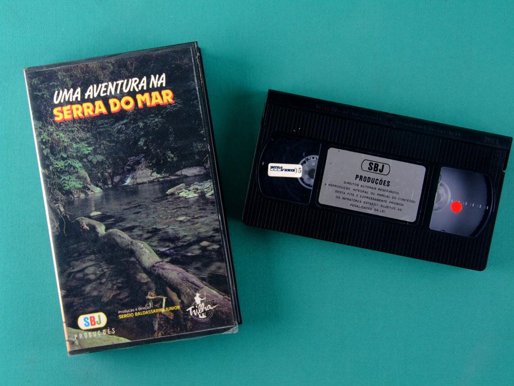 VHS SERGIO BALDASSARINI JUNIOR UMA AVENTURA NA SERRA DO MAR TREKKING ADVENTURE BRAZIL