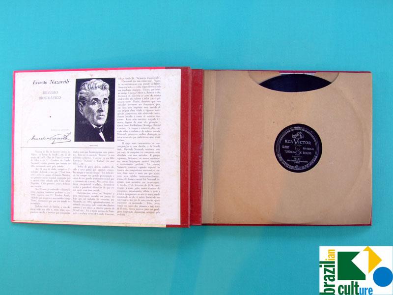78 RPM BOX JACOB DO BANDOLIM ERNESTO NAZARE INSTRUMENTAL CHORO SAMBA ROOTS FOLK BRAZIL