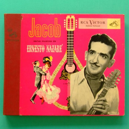 78 RPM BOX JACOB DO BANDOLIM ERNESTO NAZARE INSTRUMENTAL CHORO SAMBA ROOTS FOLK BRAZIL