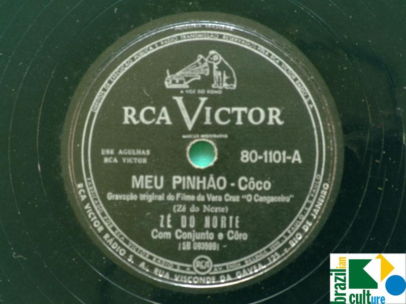 78 RPM OST O CANGACEIRO VANJA ORICO ZE DO NORTE REGIONAL NORTHEASTERN BRAZIL
