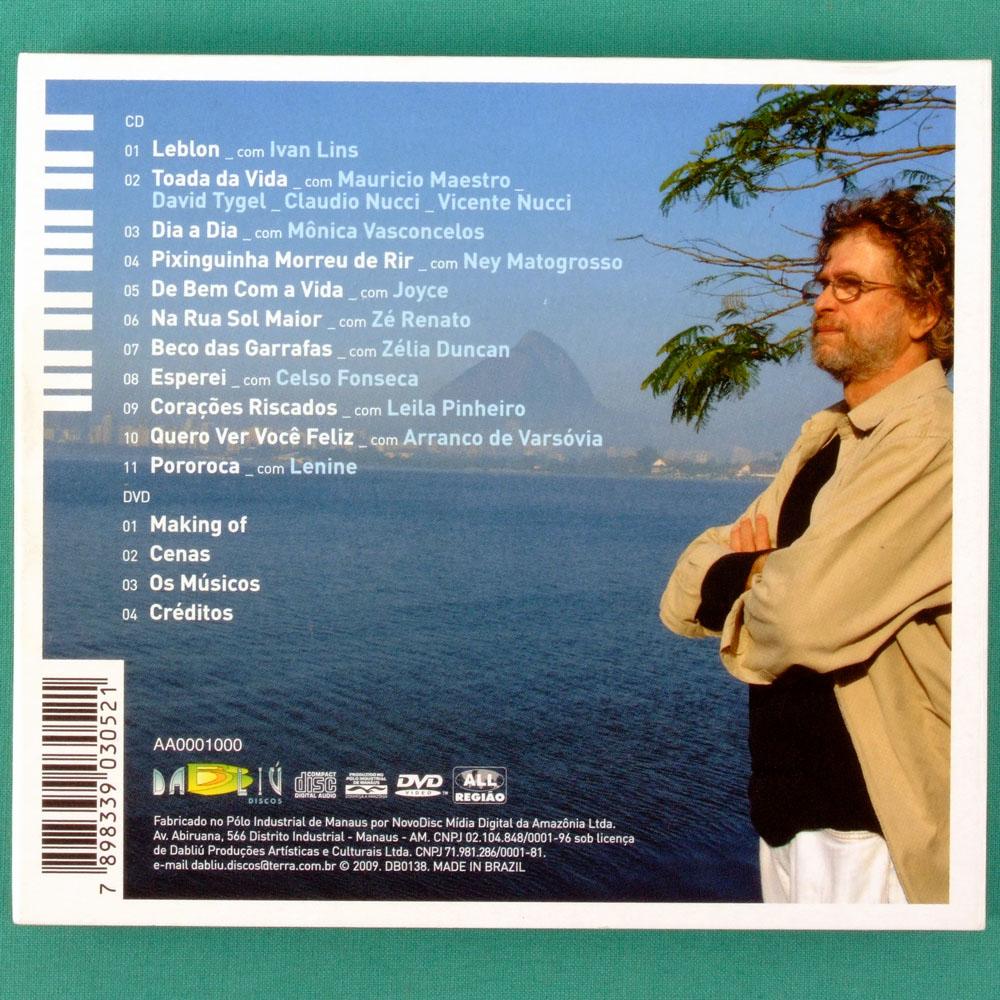 CD DVD ALBERTO ROSENBLIT DE BEM COM A VIDA JOYCE LENINE NEY ZELIA DUNCAN BOCA LIVRE BRAZIL