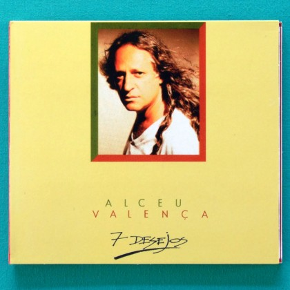 CD ALCEU VALENCA 7 DESEJOS 1992 REGIONAL PSYCH FOLK BRAZIL