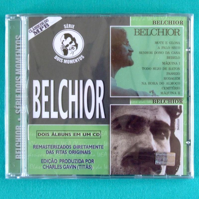 CD BELCHIOR - DOIS MOMENTOS 1974 & 1979 MPB PSYCH FOLK BRAZIL