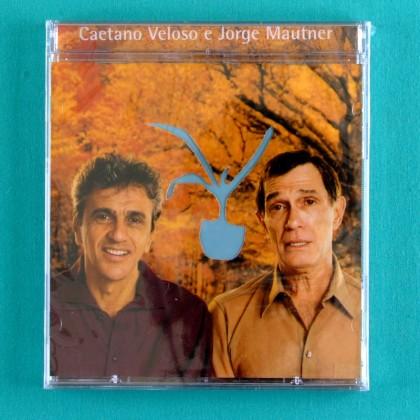 CD CAETANO VELOSO JORGE MAUTNER EU NAO PECO DESCULPAS 2002 TROPICALIA PSYCH FOLK BRAZIL