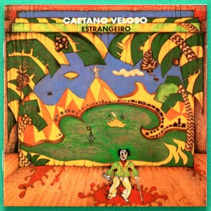CD CAETANO VELOSO ESTRANGEIRO 1989 FOLK BOSSA SAMBA PSYCH BRAZIL
