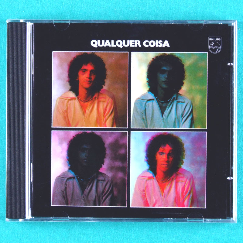 CD CAETANO VELOSO QUALQUER COISA 1975 DONATO BOSSA BEATLES TROPICALIA REGIONAL PSYCH FOLK BRAZIL