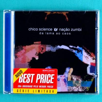 CD CHICO SCIENCE & NACAO ZUMBI DA LAMA AO CAOS 1994 FUNK GROOVE SOUL FUZZ WAH PSYCH BRAZIL