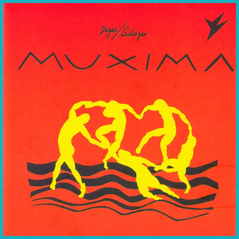 CD DEGAS & SALAZAR JORGE DEGAS / MARCELO SALAZAR MUXIMA 1987 SOUL GROOVE JAZZ BRAZIL