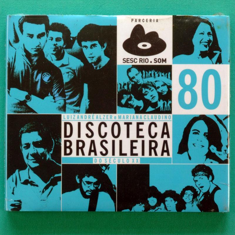 CD DISCOTECA BRASILEIRA 80 BLITZ RPM GANG 90 MPB BRAZIL