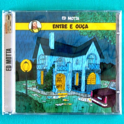 CD ED MOTTA ENTRE E OUCA 1992 SOUL JAZZ BOSSA FUNK DJ BRAZIL