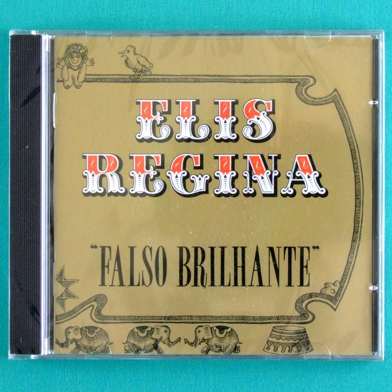 CD ELIS REGINA FALSO BRILHANTE 1976 LATIN BOSSA FOLK  BRAZIL