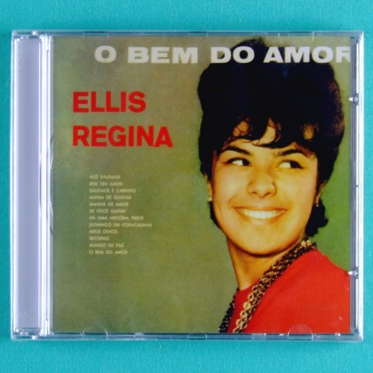 CD ELIS REGINA O BEM DO AMOR 1963 BOSSA FOLK JAZZ BRAZIL