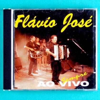 CD FLAVIO JOSE SEMPRE (AO VIVO) 1999 REGIONAL NORTHEASTERN FOLK BRAZIL
