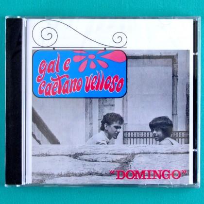 CD GAL COSTA CAETANO VELOSO DOMINGO 1967 DEBUT BOSSA NOVA SAMBA FOLK BRAZIL