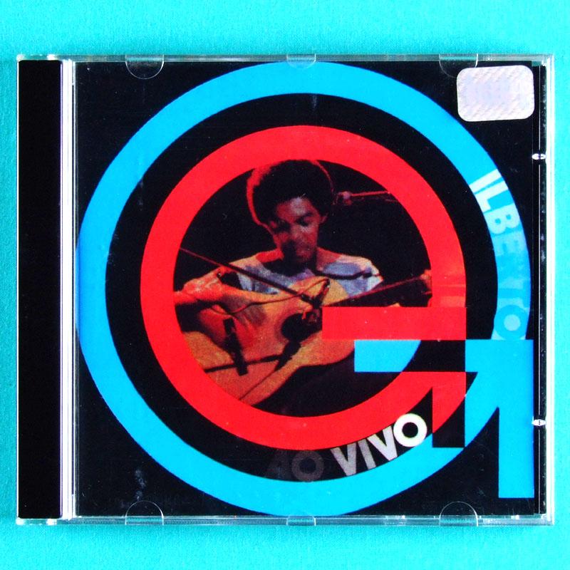 CD GILBERTO GIL AO VIVO 1974 TROPICALIA ROCK PSYCH GROOVE BRAZIL