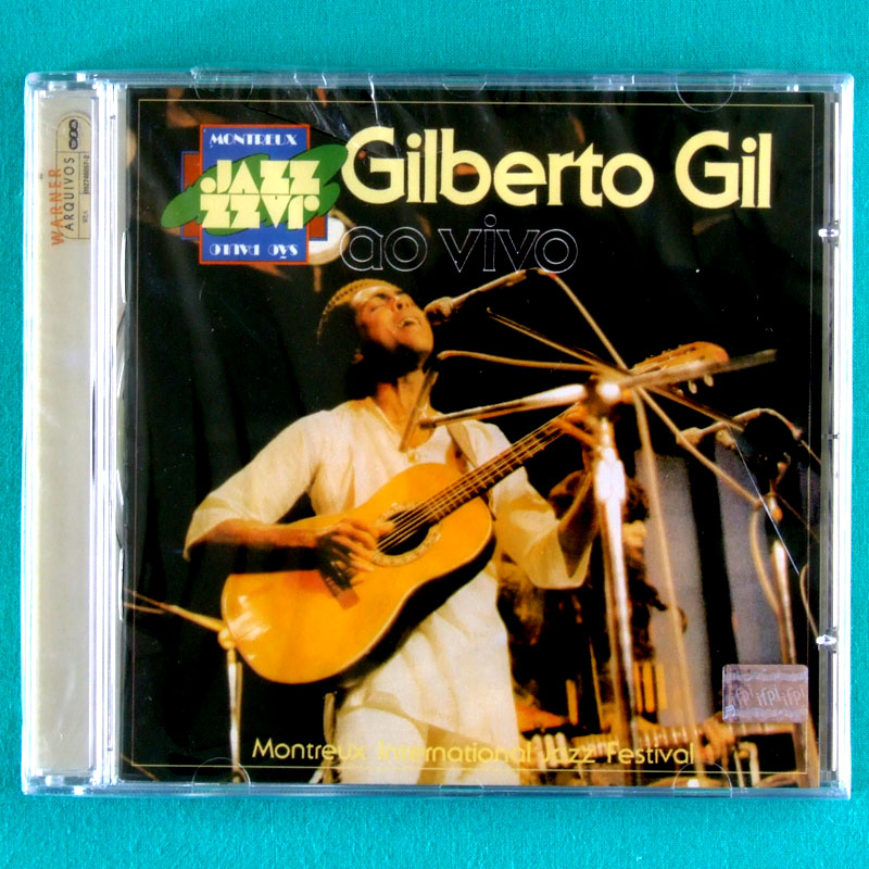 CD GILBERTO GIL AO VIVO LIVE AT MONTREUX INTERNATIONAL JAZZ FESTIVAL SÃO PAULO 1978 ROCK FOLK PSYCH GROOVE BRAZIL