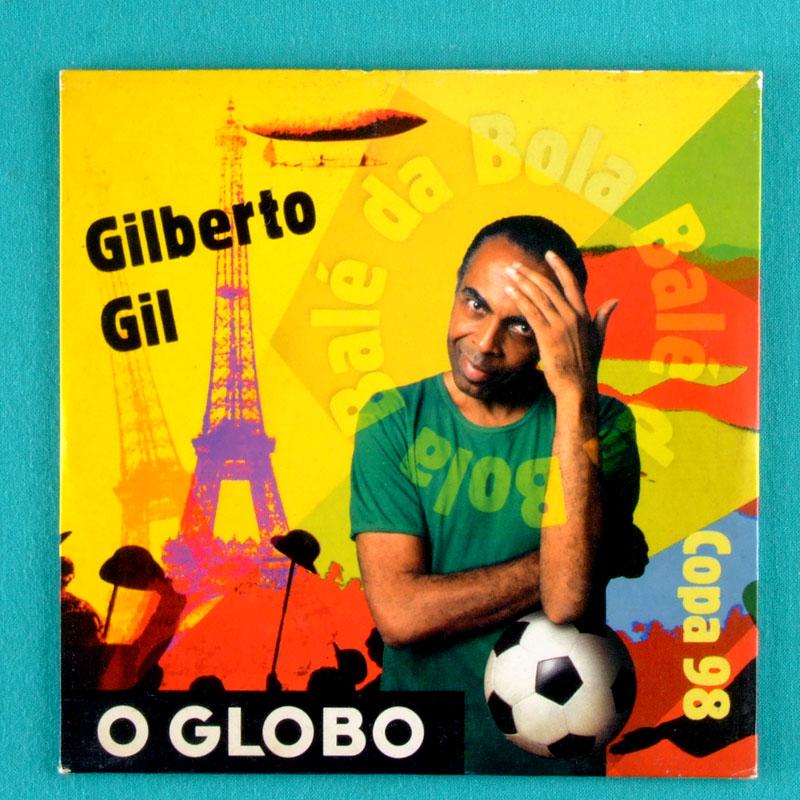 CD GILBERTO GIL BALE DA BOLA COPA 1998 O GLOBO PROMOCIONAL RECORD BRAZIL