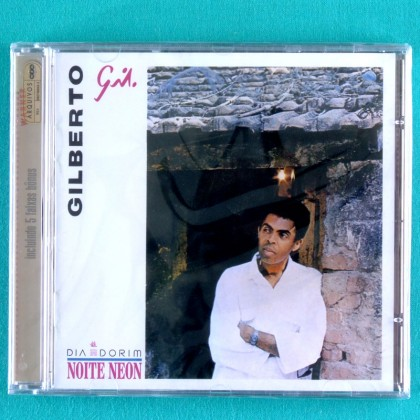 CD GILBERTO GIL DIA NORIM NOITE NEON 1985 FOLK REGIONAL BOSSA SAMBA BRAZIL