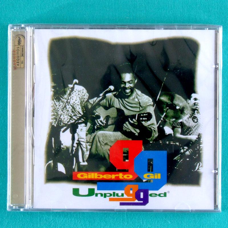 CD GILBERTO GIL UNPLUGGED 1994 TROPICALIA BOSSA SAMBA PSYCH BRAZIL