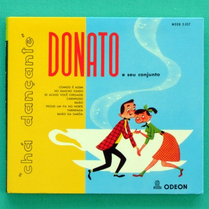 CD JOAO DONATO CHA DANÇANTE 1956 INSTRUMENTAL BOSSA NOVA JAZZ FUNK BRAZIL