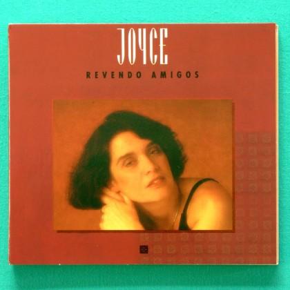 CD JOYCE REVENDO AMIGOS 1995 GILBERTO GIL GAL COSTA WANDA SA BOCA LIVRE FOLK BOSSA JAZZ BRAZIL