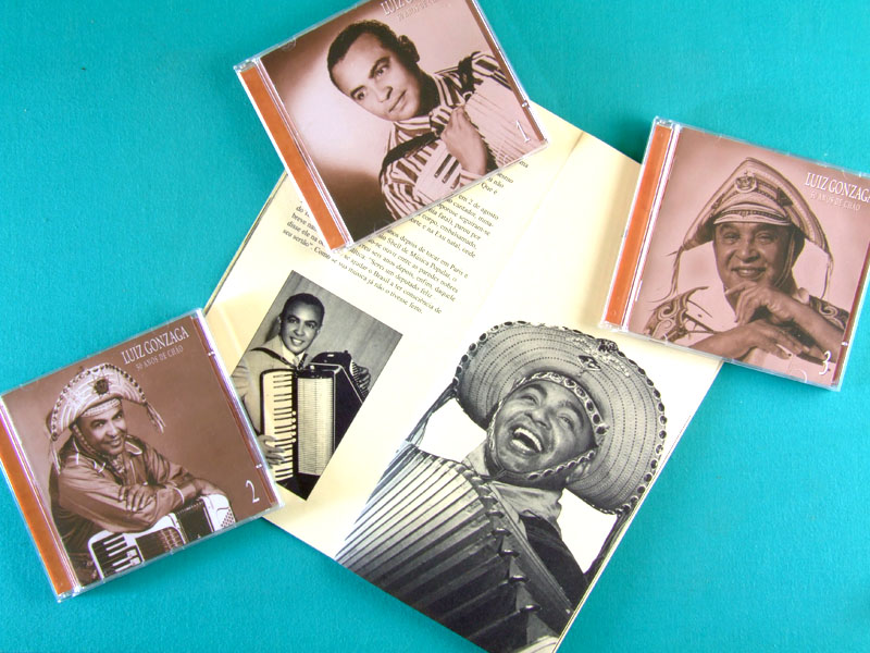 CD LUIZ GONZAGA 50 ANOS DE CHAO GAL COSTA DOMINGUINHOS FAGNER ELBA FOLK BRAZIL