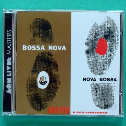 CD MANFREDO FEST E SEU CONJUNTO NOVA BOSSA NOVA 1963 JAZZ  BRAZIL