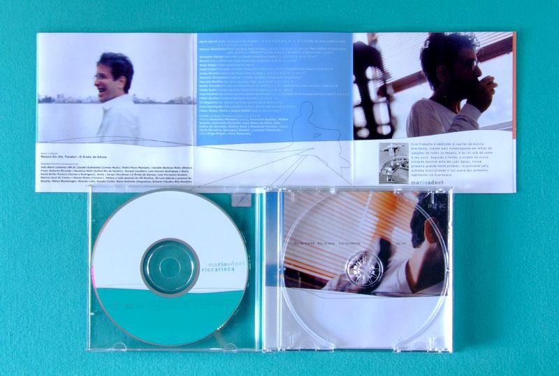 CD MARIO ADNET RIO CARIOCA 2001 BOSSA SAMBA JAZZ MPB BRAZIL