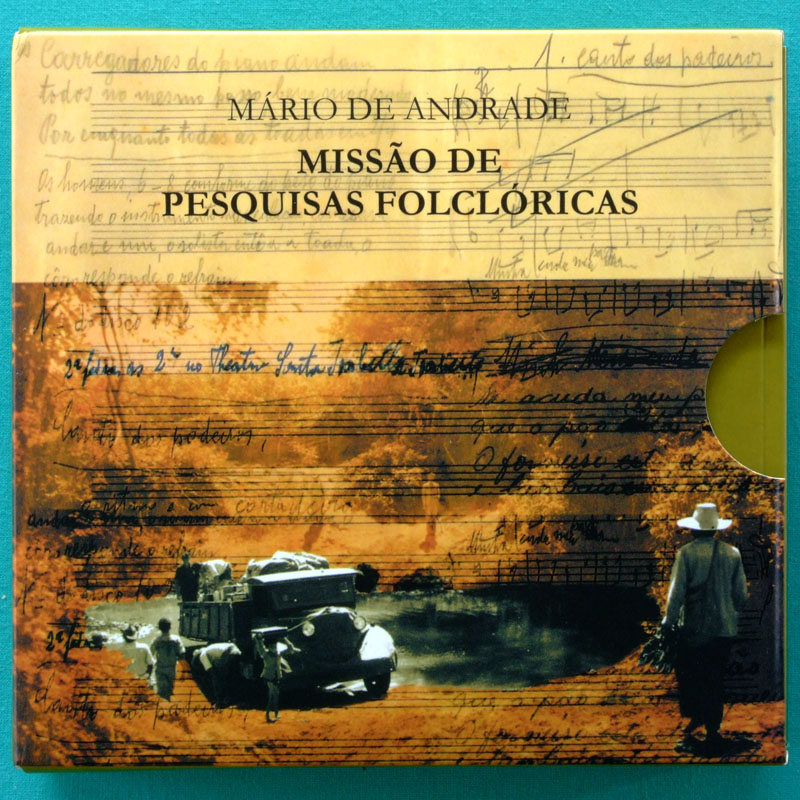 CD MARIO DE ANDRADE - MISSAO DE PESQUISAS FOLCLORICAS 1938 REGIONAL NORTHEASTERN BRAZIL