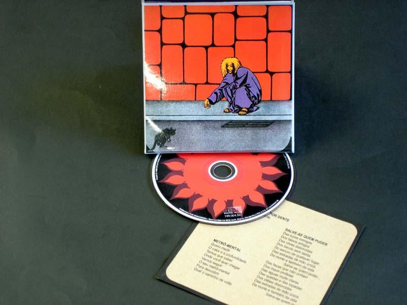 CD MODULO 1000 MIL - NAO FALE COM PAREDES 1970 PSYCH PROG ROCK BRAZIL