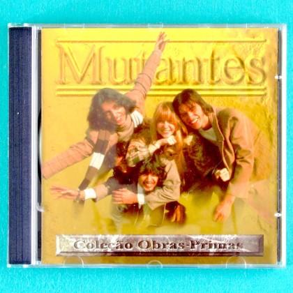 CD MUTANTES COLECAO OBRAS PRIMAS TROPICALIA ROCK PSYCH PROG BRAZIL