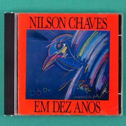 CD NILSON CHAVES EM DEZ ANOS 1990 FOLK REGIONAL  BRAZIL