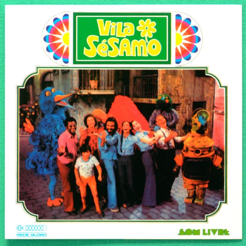 CD OST VILA SESAMO 1974 TRIO SONECA TV SERIES MARCOS VALLE WALTEL BRANCO FOLK BRAZIL