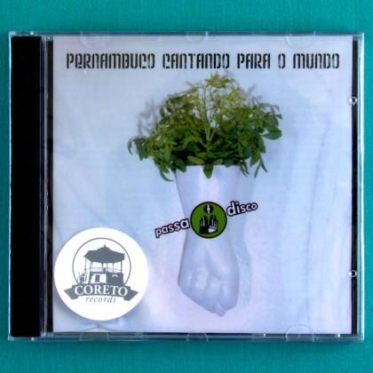 CD VARIOUS PERNAMBUCO CANTANDO PARA O MUNDO FOLK BRAZIL