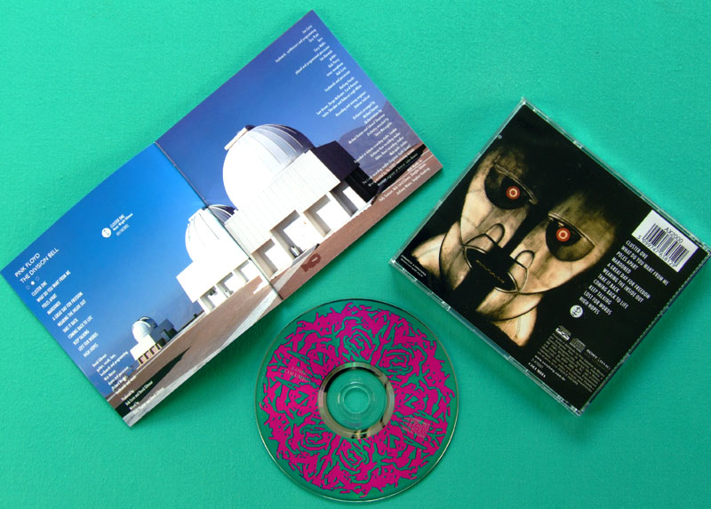 CD PINK FLOYD THE DIVISION BELL PROG PSYCH NEAR MINT BRAZIL