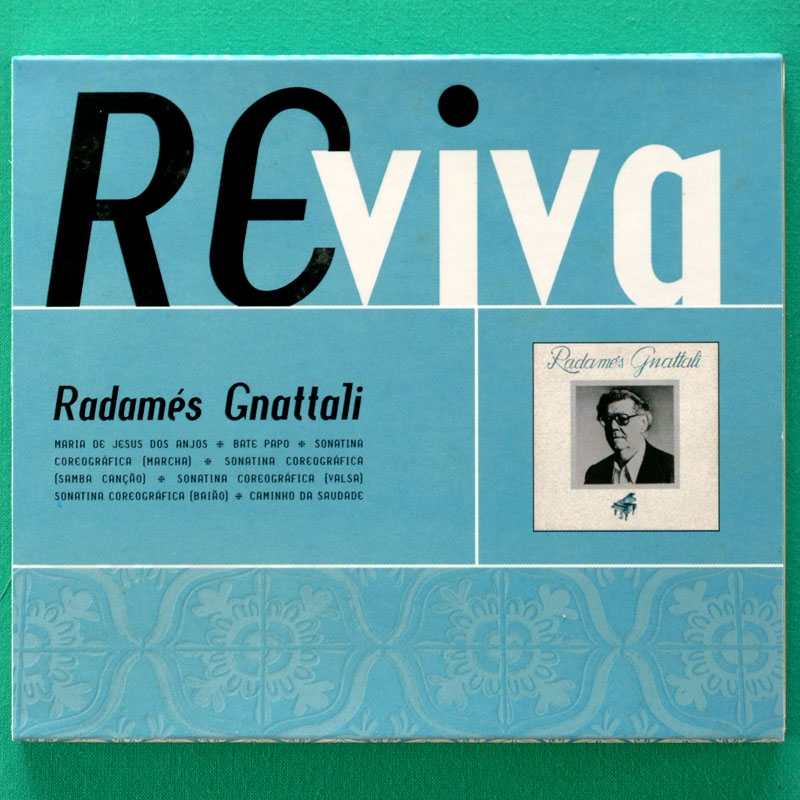 CD RADAMES GNATTALI REVIVA BRAZILIAN ERUDIT ROOT BRAZIL