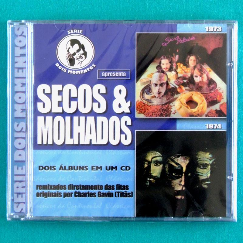 CD SECOS & MOLHADOS 1973 & 1974 NEY MATOGROSSO DOIS MOMENTOS GLITTER ROCK FOLK PSYCH BRAZIL