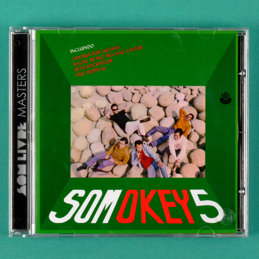CD SOM OKEY 5 1969 MELLOW BOSSA JAZZ BRAZIL