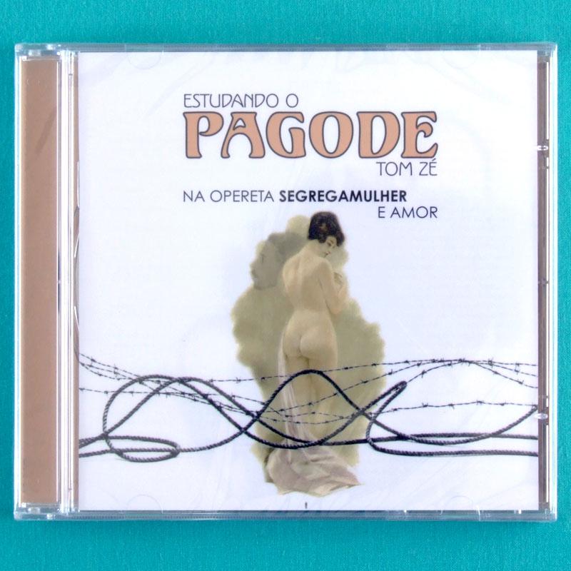 CD TOM ZE ESTUDANDO O PAGODE 2005 ZELIA DUNCAN FOLK PSYCH PROG EXP BRAZIL