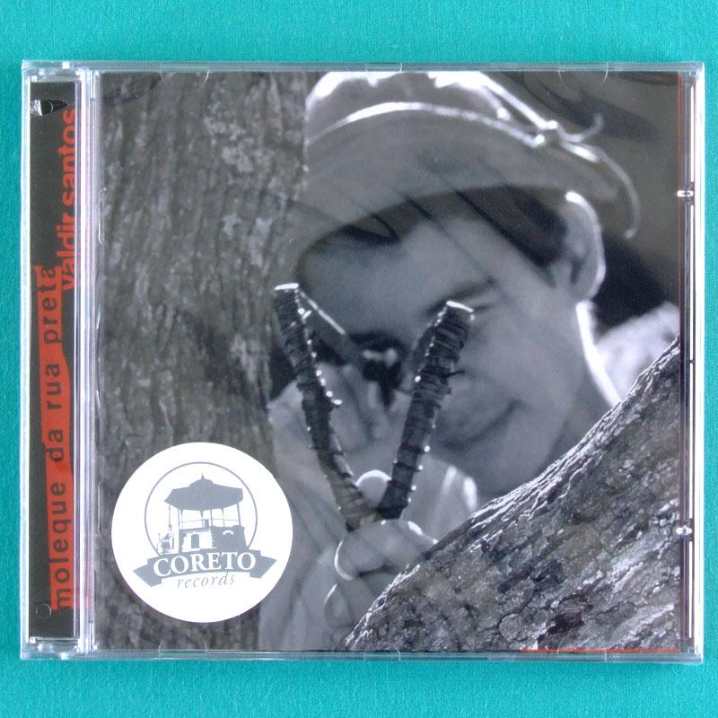 CD VALDIR SANTOS MOLEQUE DA RUA PRETA 2003 FORRO FOLK BRAZIL