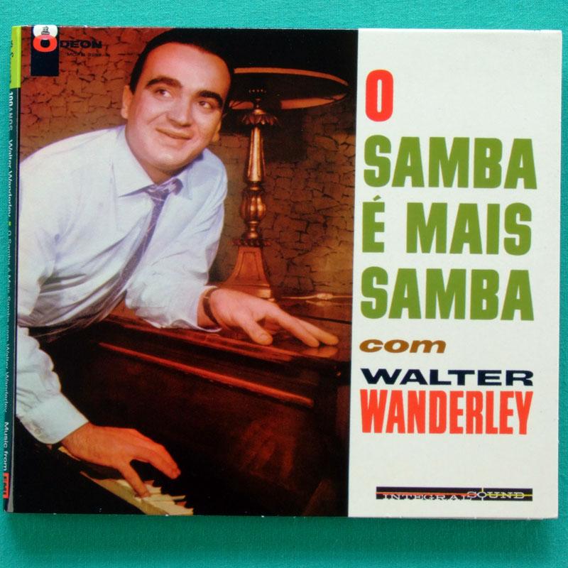 CD WALTER WANDERLEY O SAMBA E MAIS SAMBA 1962 ORGAN INSTRUMENTAL BOSSA JAZZ BRAZIL