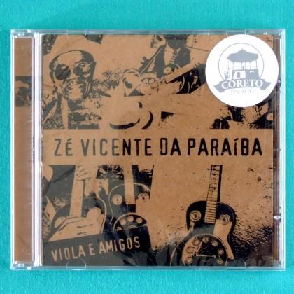 CD ZE VICENTE DA PARAIBA VIOLA E AMIGOS DEBUT 2005 NORTHEASTERN REGIONAL BRAZIL