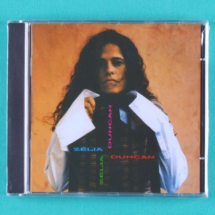 CD ZELIA DUNCAN 1994 FOLK ROCK POP PSYCH BRAZIL