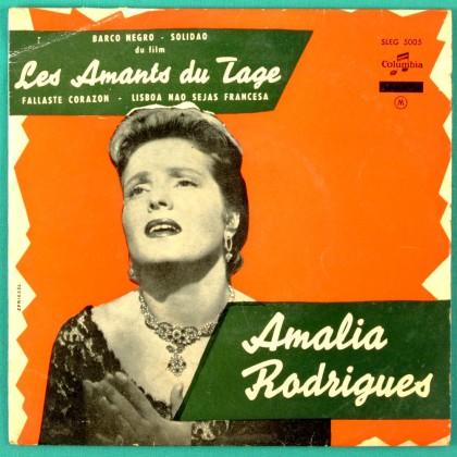 """7"""" AMALIA RODRIGUES FALLASTE CORAZON OST EP 45 PORTUGAL"""