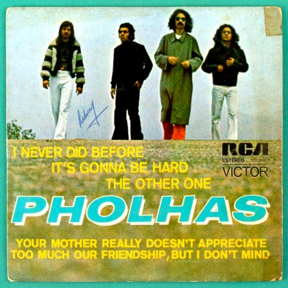 "7"" PHOLHAS I NEVER DID BEFORE PROG PSYCH CULT EP BRAZIL"
