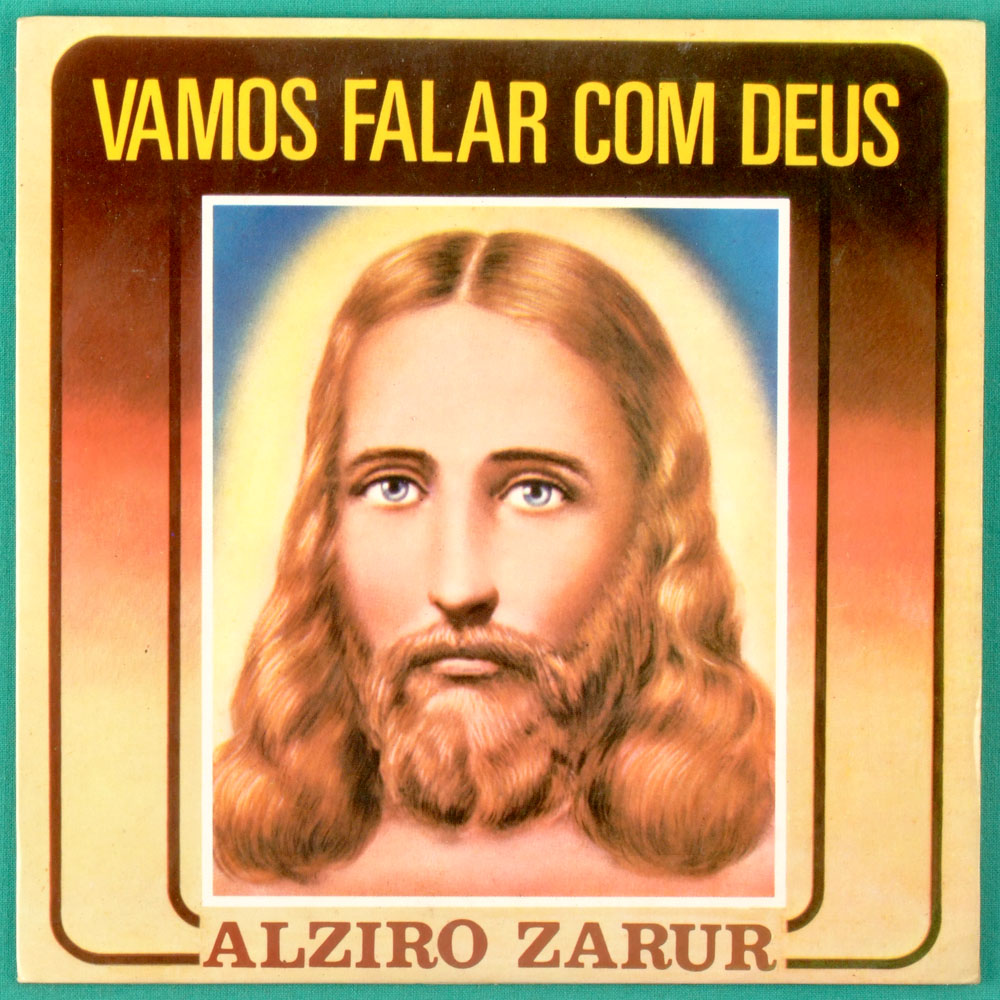 """7"""" ALZIRO ZARUR VAMOS FALAR COM DEUS LEGIAO DA BOA VONTADE GOSPEL EP BRAZIL"""